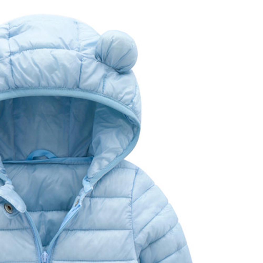 912839e691 Chlidren Boys Girl Winter Coats Jacket Kids ZipThick Ears Snow Hoodie  Clothes