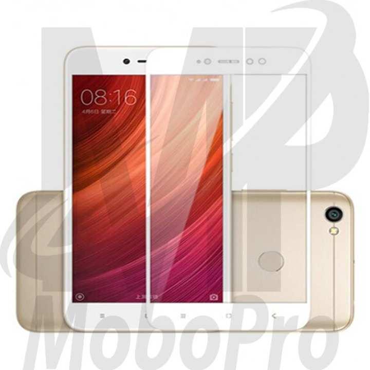 Mi Redmi Note 5A / Note 5A Prime Full Coverage 2.5D Glass Screen Protector White