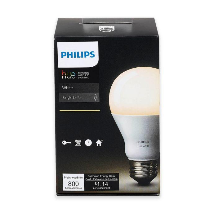 Philips Hue White A19 220v smart LED Bulb Works directly with Amazon Echo Plus, Nest