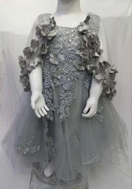 Fancy Frock Shamose Net For Party Wear By Xero9