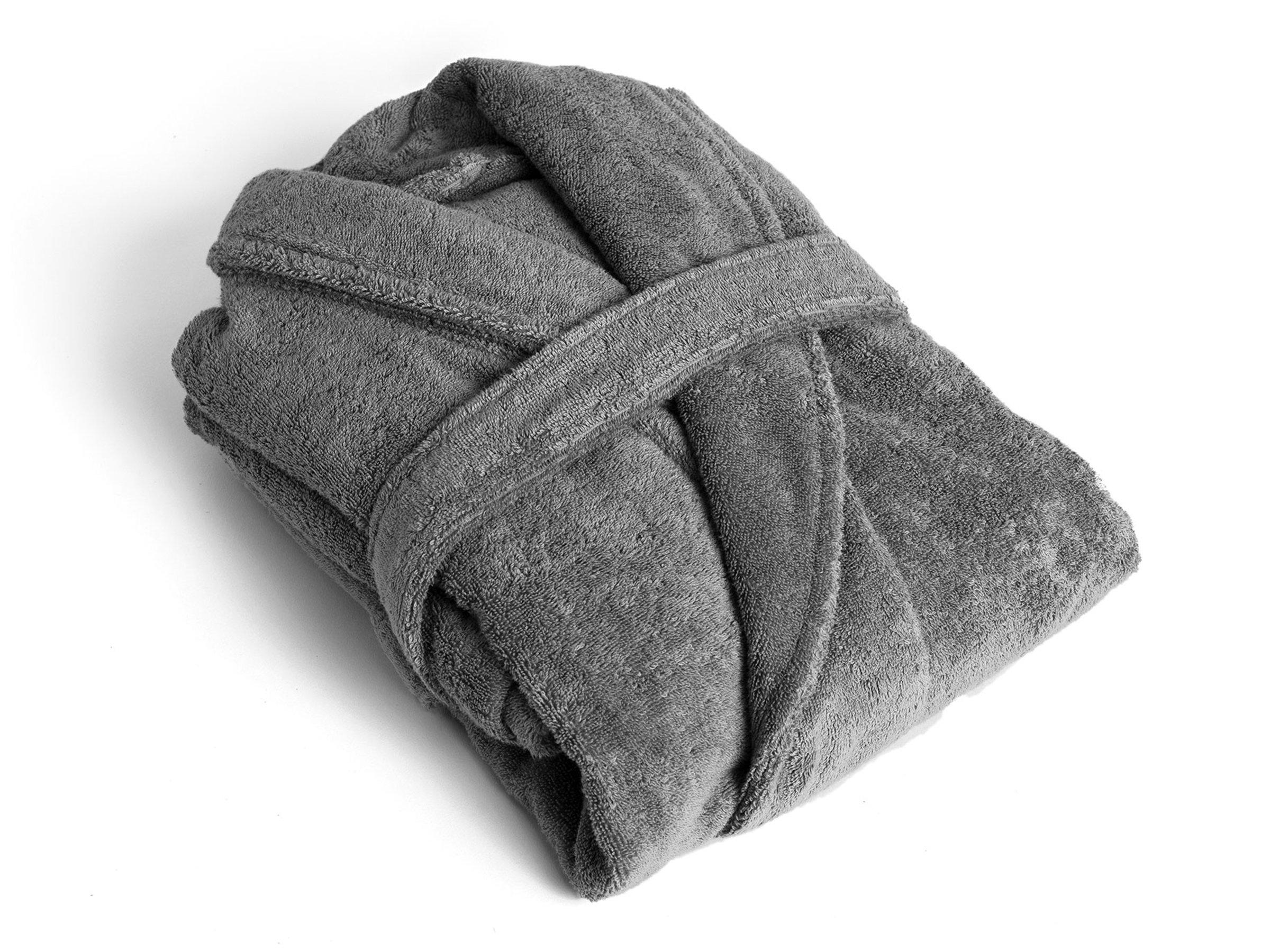 BATHROBE LUXURIOUS TOWELING FOR MEN AND WOMEN- FREE SIZE