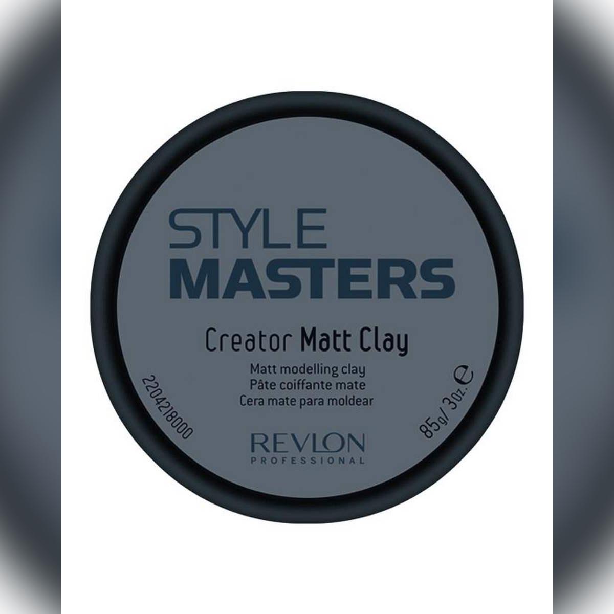 STYLE MASTERS™ Creator Matt Clay Hair Wax - 85gm