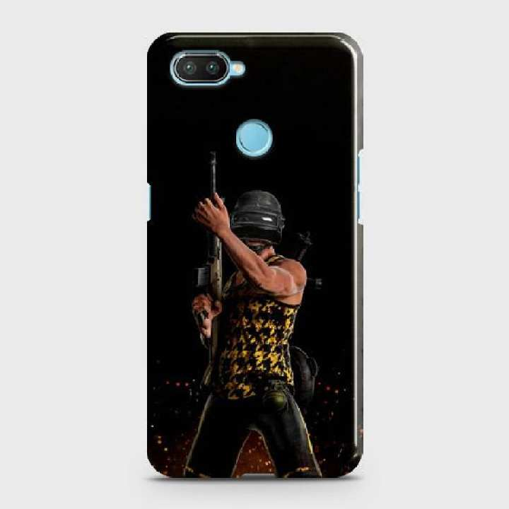 Xiaomi Mi 8 Lite Cover Pubg character Hard Cover- Design 2 Case
