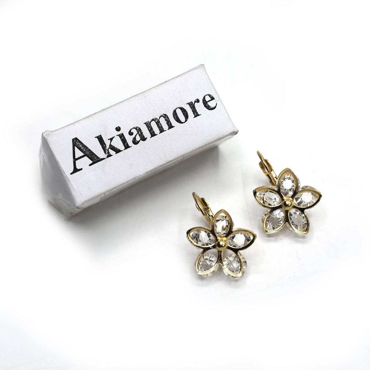 2020 New Korean shiny fine crystal earrings joker fashion geometric circular Women Drop earrings Jewelry