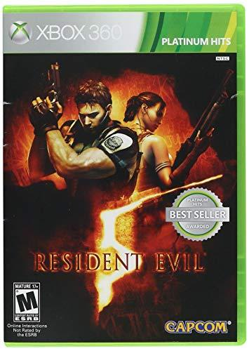 RESIDENT EVIL 5 - Xbox 360 Game DVD With SPECIAL Gift