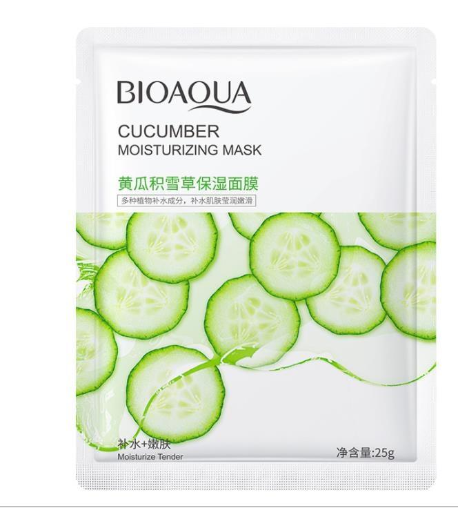 BIOAQUA Cucumber Moisturizing Skin Care Oil Control Mask-25g