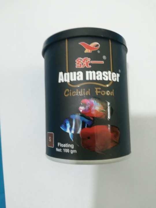 Aqua Master Red Parrot Fish And Cichlid Food Color Enhancer 100 Gram - Fish Food
