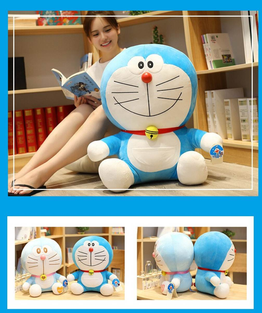 Imported Quality Multiple Sizes Luxury Doraemon Plush toy doll Cat Kids Gift Baby Toy Kawaii plush Animal Plush Best Gifts for babys and girls