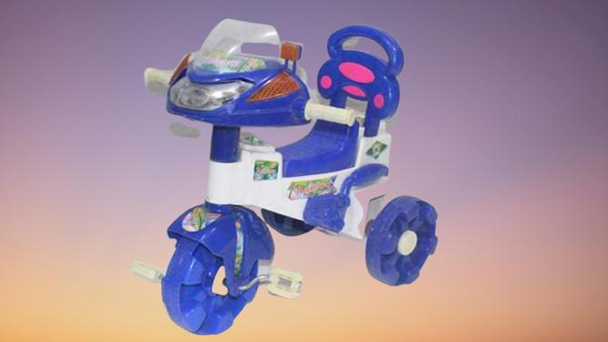 Baby Rainbow Tricycle With Rainbow Lights & Music