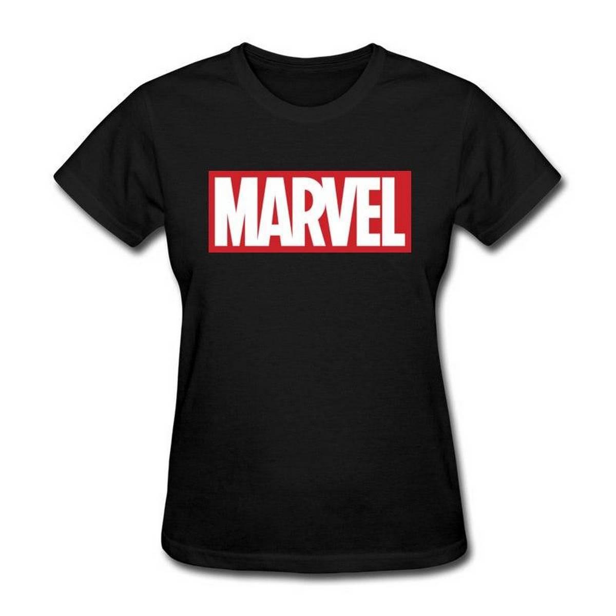 Women Tshirt Marvel Fashion New Tops T-Shirt Good Quality Full Cotton Clothing Summer T Shirt Hot Trendy