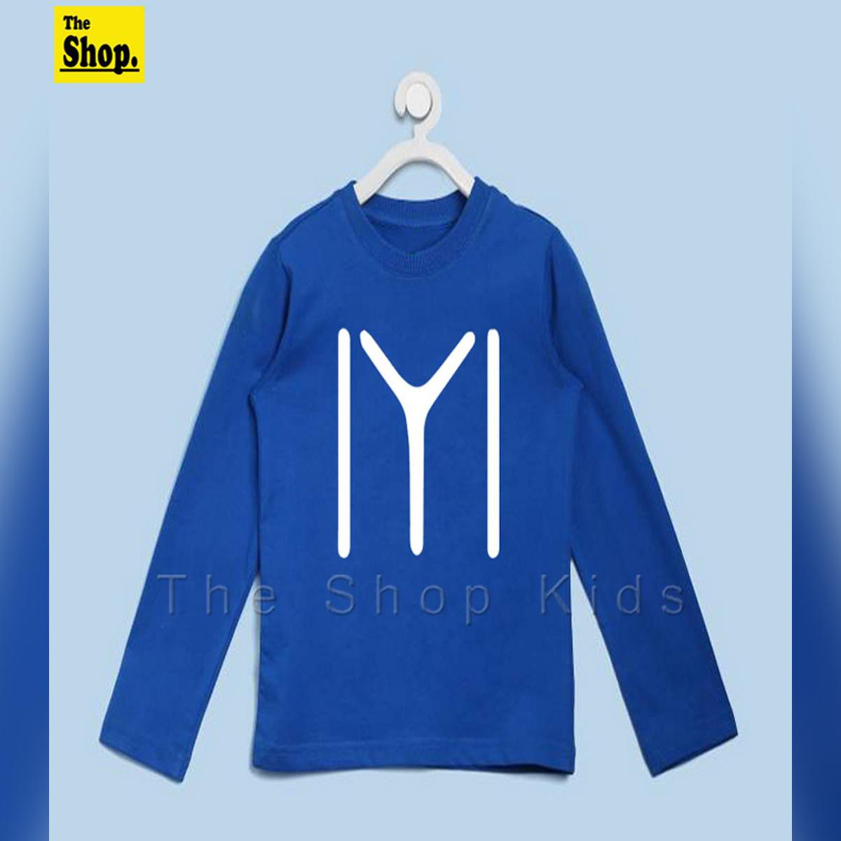 HQ - ERTUGRUL Logo Full Sleeves T-Shirt For Kids - EL-FS1