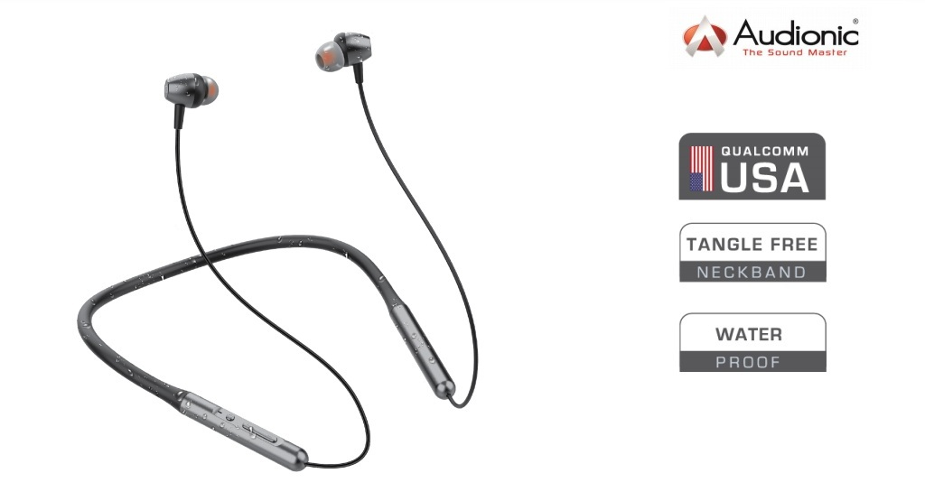 Audionic Signature N210 Premium Wireless Bluetooth Neckband Buy Online At Best Prices In Pakistan Daraz Pk