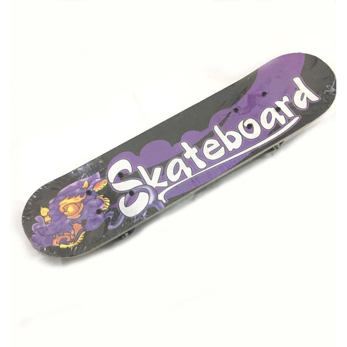 "Skateboard 23"" Medium Wood for Teens Adults Beginners Girls Boys Kids (random design)"