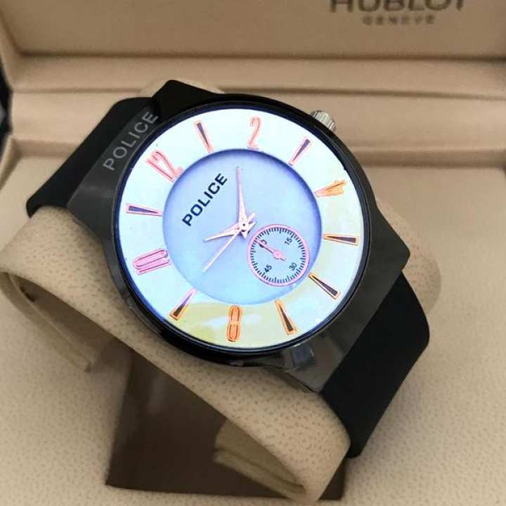 Tan PVC Casual Designer Watch for Man Quartz Watches for Boy New Fashion Wristwatch for Casual And Party Wear and Gifts