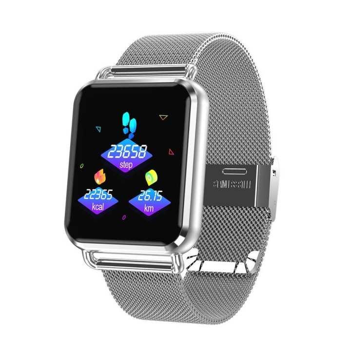 Q3 Color Screen Smart Watch Steel Belt