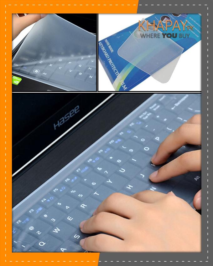 "Laptop Keyboard protector - Transparent 15.6"""