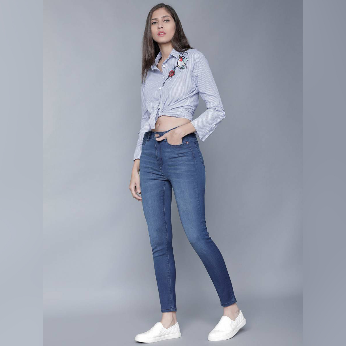 Blue jeans for her