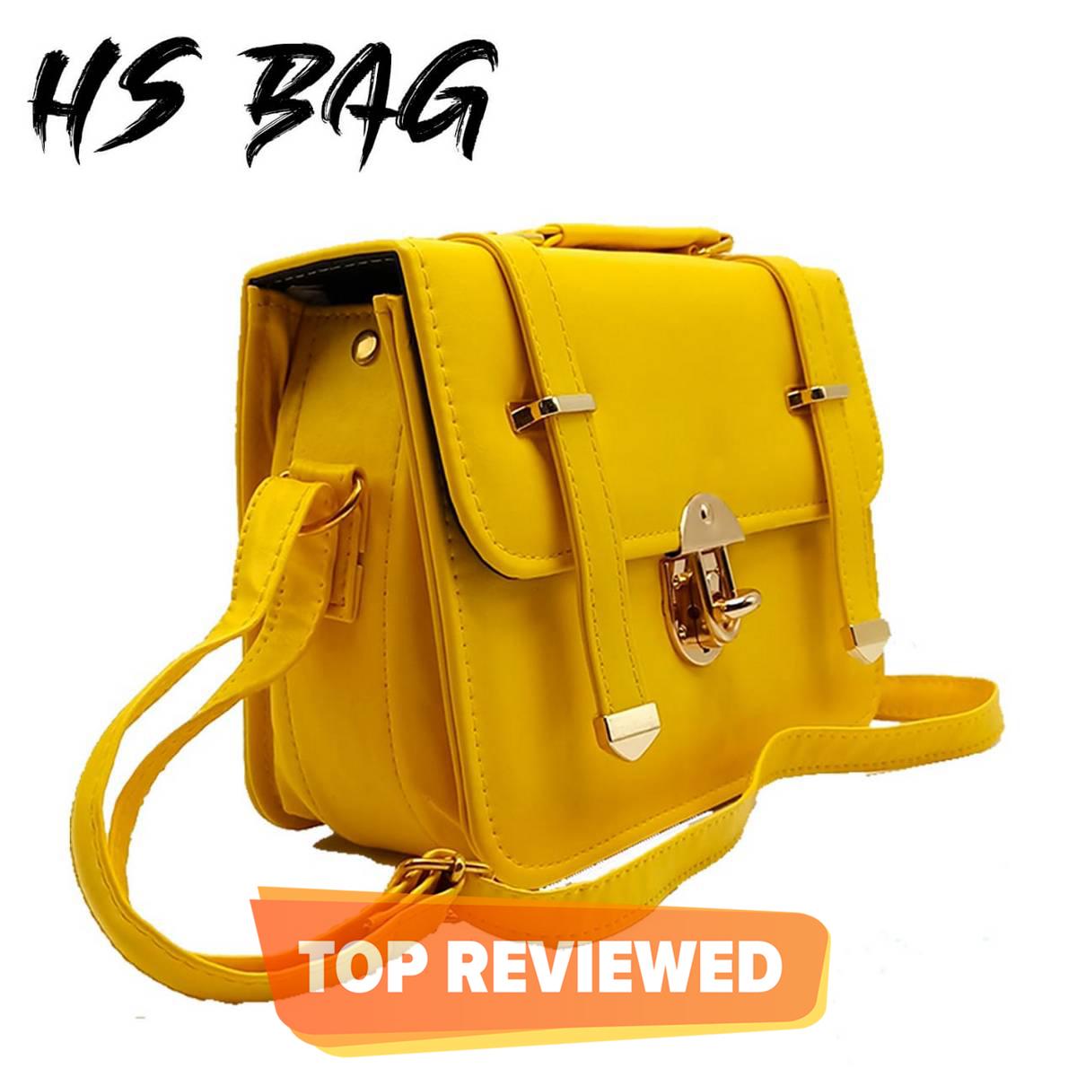 Double Strap Lock Shoulder Bags For Women