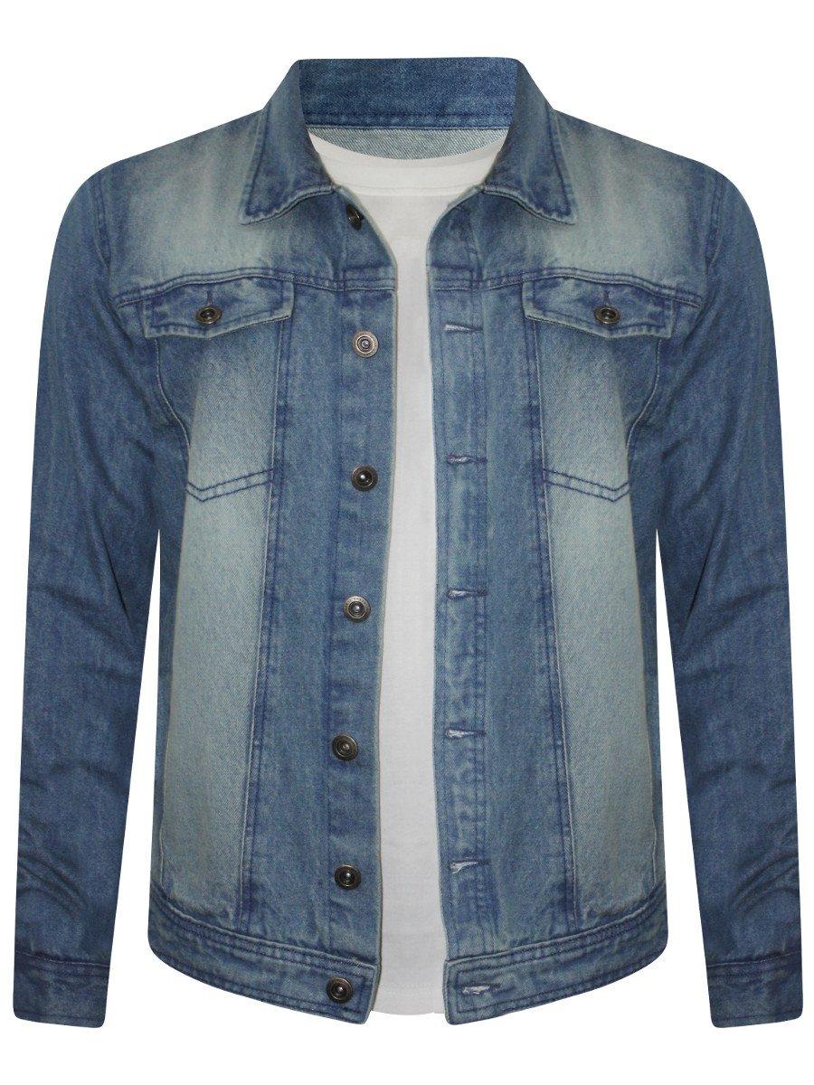 Stylish Export Quality Denim Jeans Jacket For Him