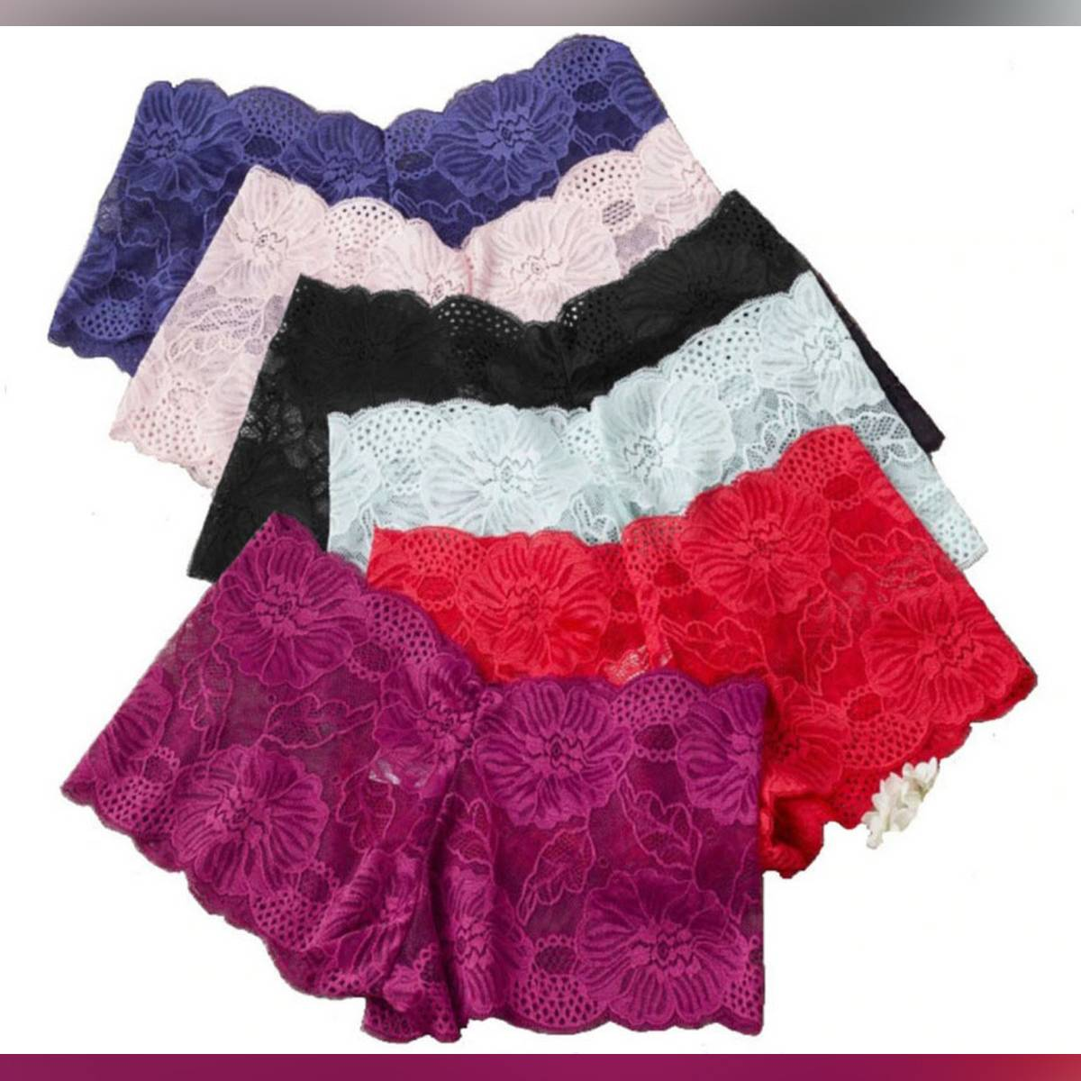 Lace Underwear Cotton Seamless Transparent Sexy Young Girls Women Panty