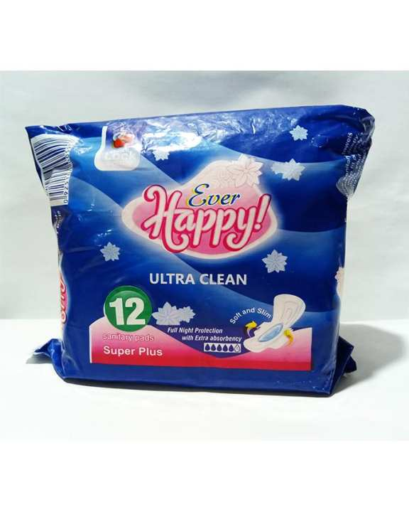 Ever Happy Ultra clean Sanitary Pads, soft and slim