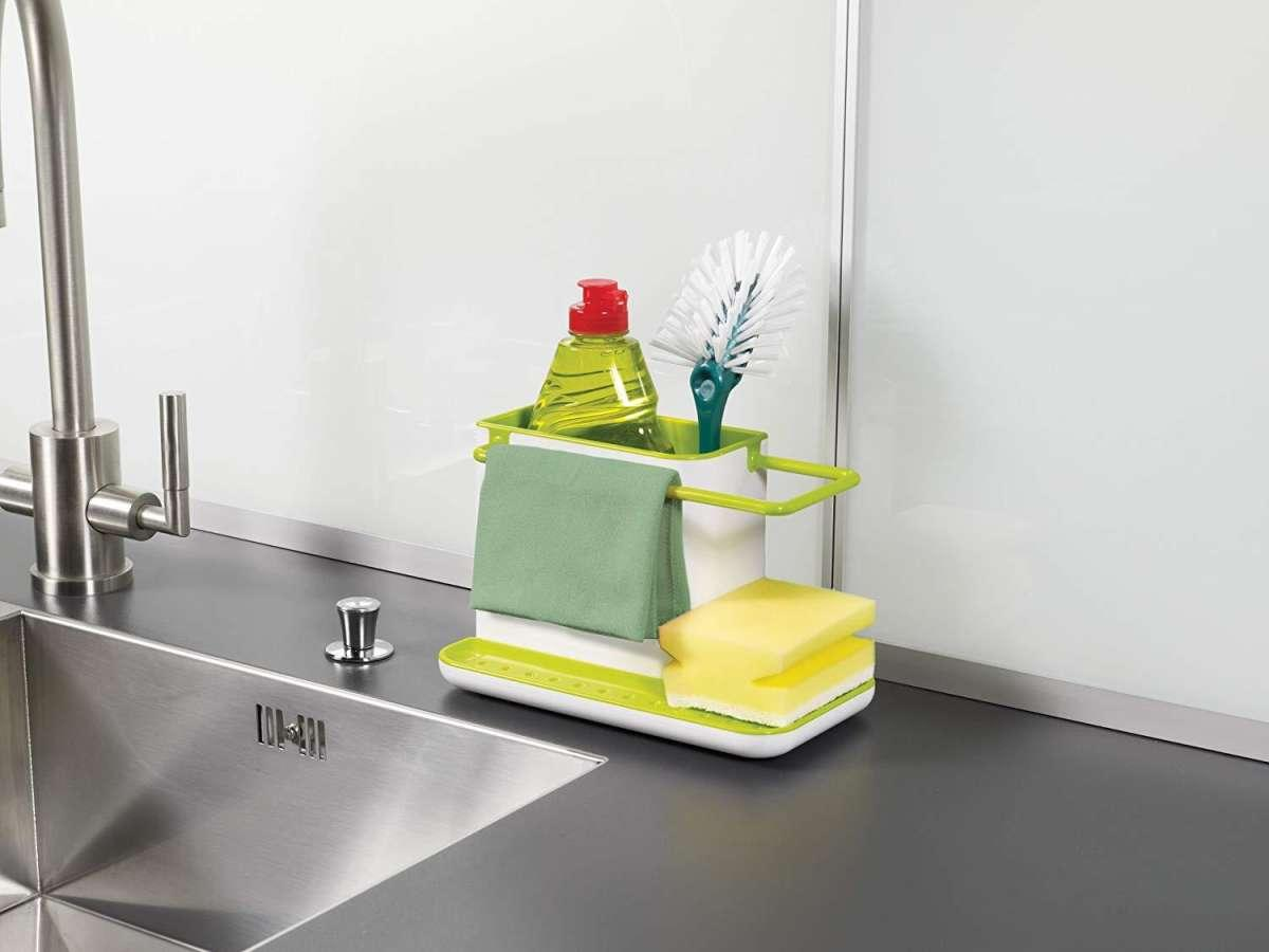 Sink Caddy Kitchen Sink Organizer Sponge Holder Dishwasher Safe Regular Green Buy Online At Best Prices In Pakistan Daraz Pk