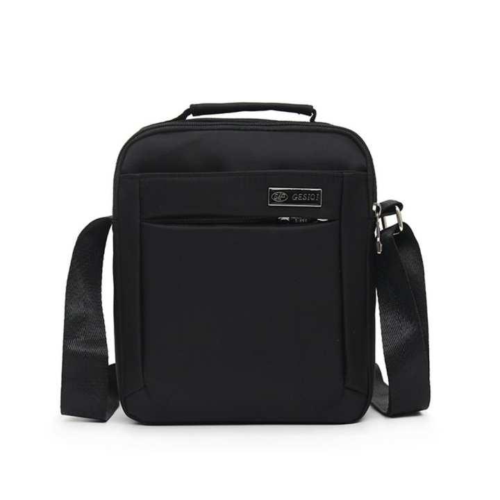 Men's Fashion Casual Solid Color Business Shoulder Bag Outdoor Messenger Bags