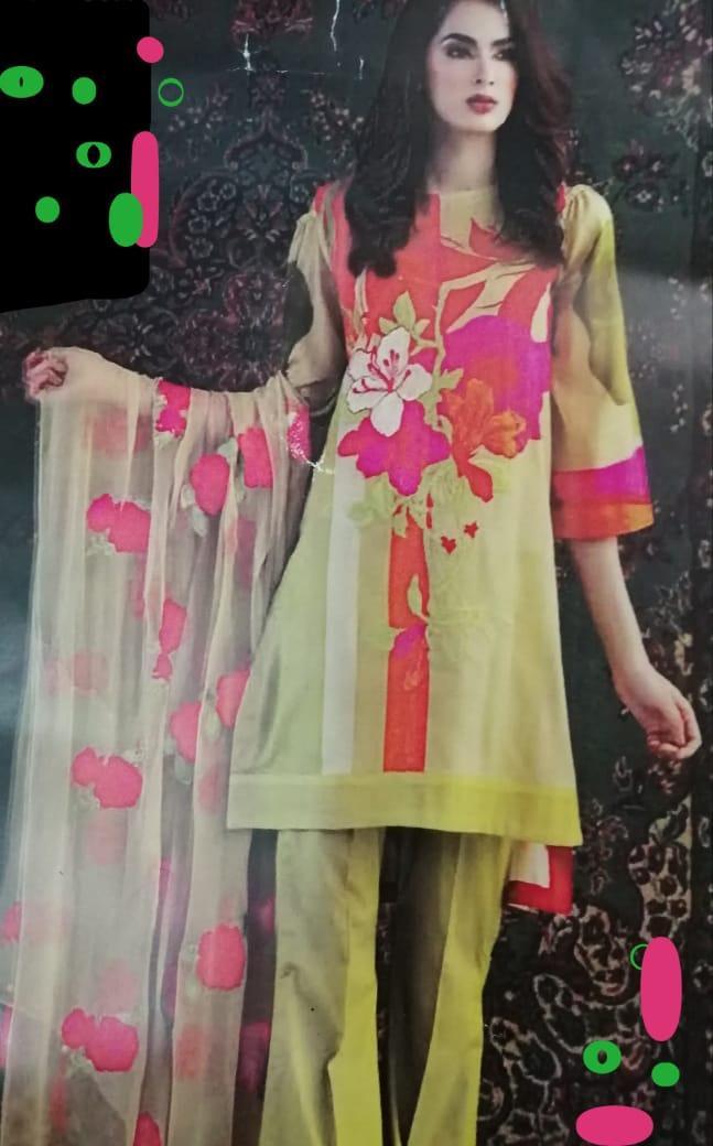 6e1b533d885 Lawn Eid Collection 2019 Sale  Pakistani Lawn Dresses - Suits - Daraz.pk