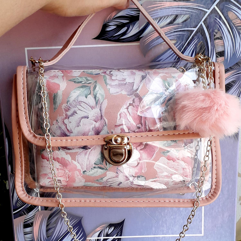 Transparent Bags for Girls Hand Bags for Women Unique Shoulder Cross Body Bag