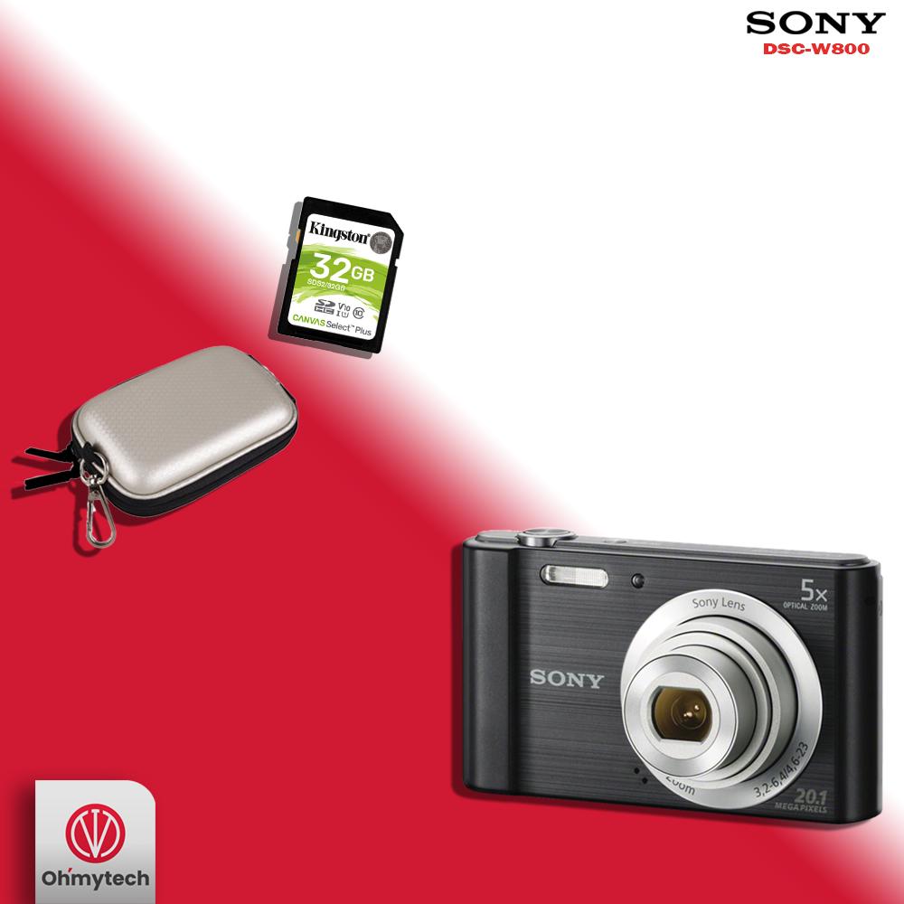 Sony W800 Digital Camera Combo Offer