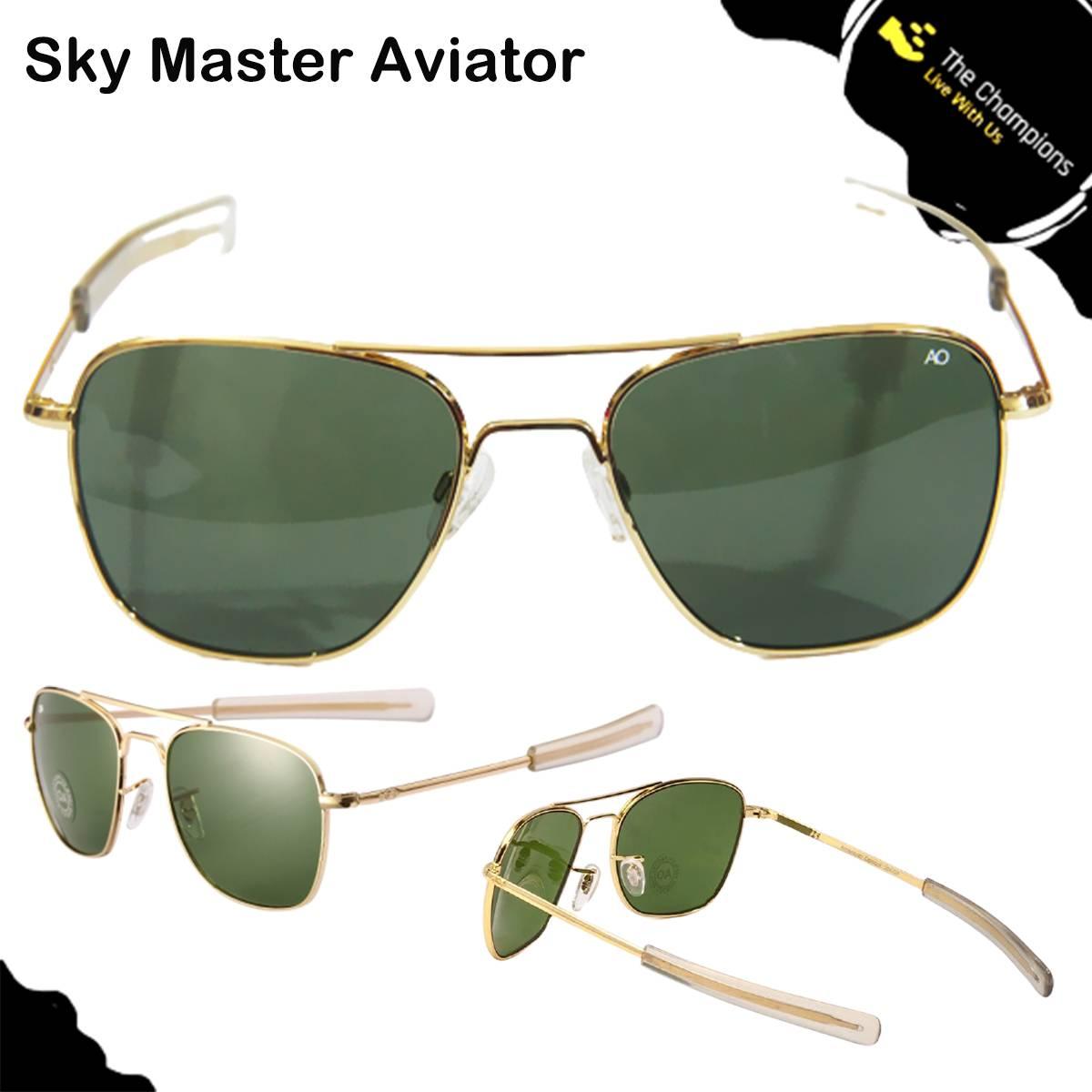 Golden Sunglass Aviator - Air Force Aviator Glasses - Aviator Sun Glasses - American Army Military Glasses Optical - Men Aviator  Sun Glasses - Women Sunglasses - Unisex Sunglasses