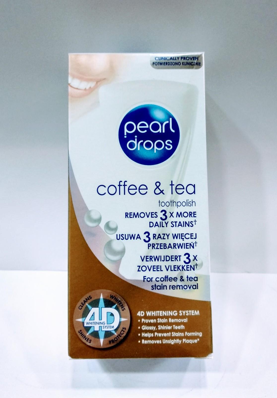 PEARL DROPS TOOTH POLISH 50ML ( TEA & COFFEE )