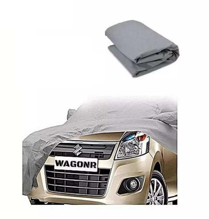 Car Top Cover for Suzuki Wagon r - Silver