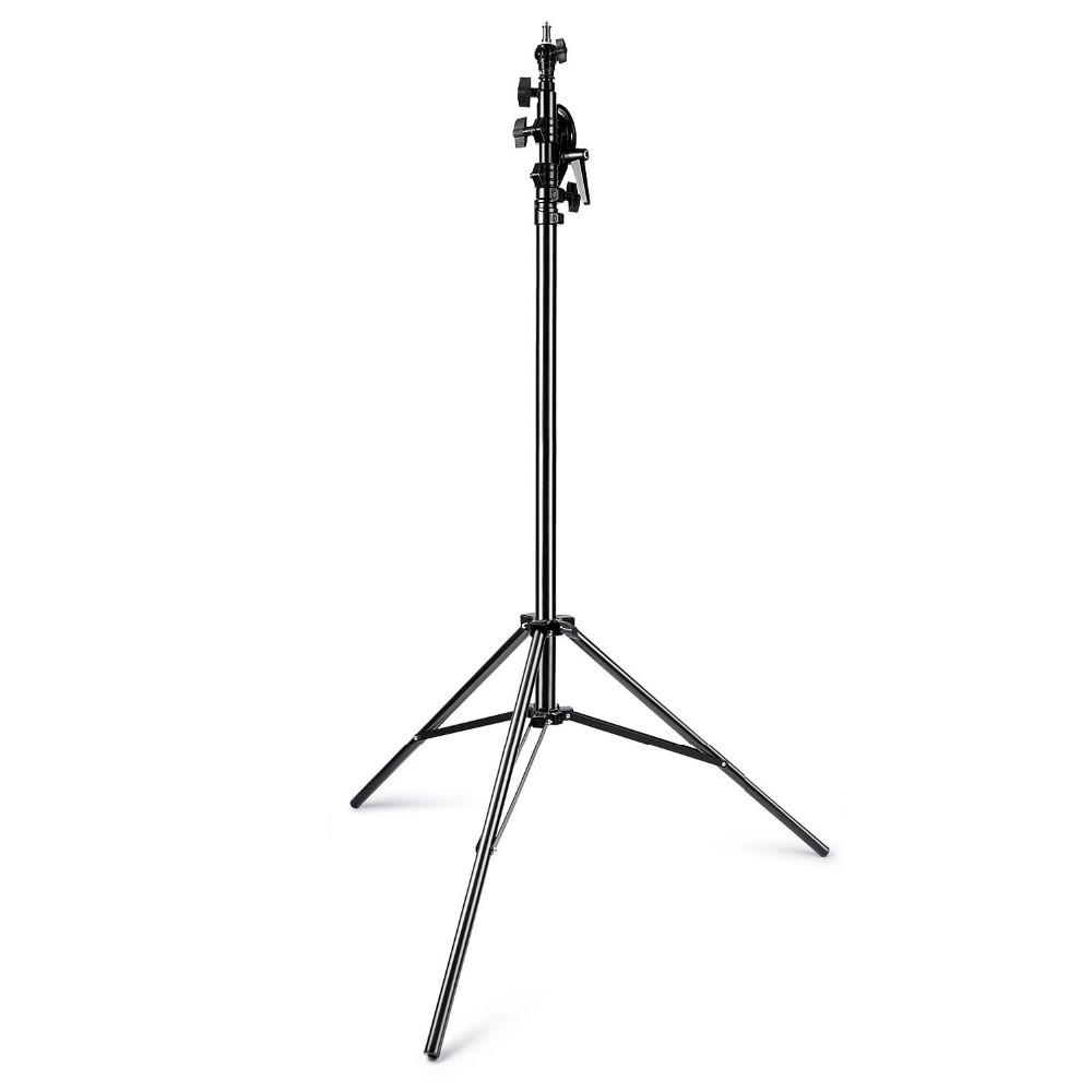 390 Tripod Stand 13ft/390cm Two Way Rotable Aluminum Adjustable Tripod Boom  Light Stand