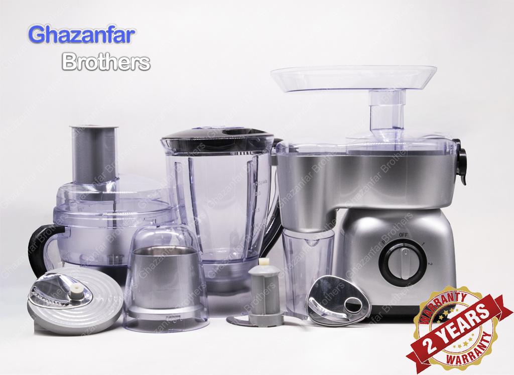 Imported Food Factory - Food Processor - Kitchen Robot - Juicer - Blender - Grinder - Chopper - Shredder - Slicer