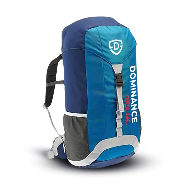 45-L Trekking Backpack Bag for men travelling and hiking bag, Hiking Backpack Gym Bag Blue| Travel Bag | Weekend Luggage Tour Bag,Backpack Bag for Men Women