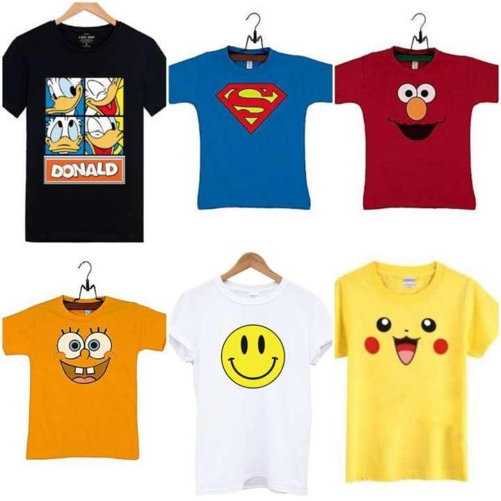Shazi Pack of 6 Kids T-Shirts