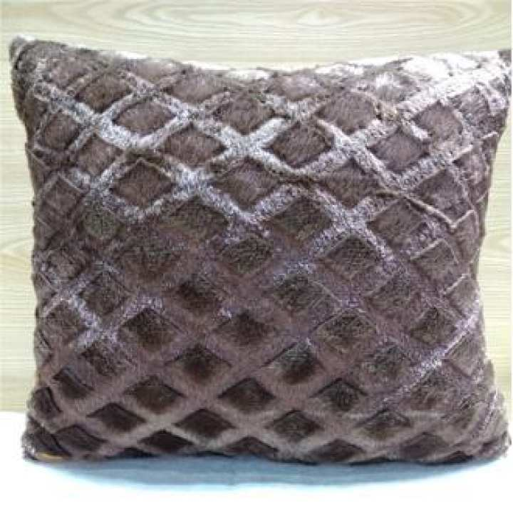 Ch Fur Cushion Cover High Quality - One Size