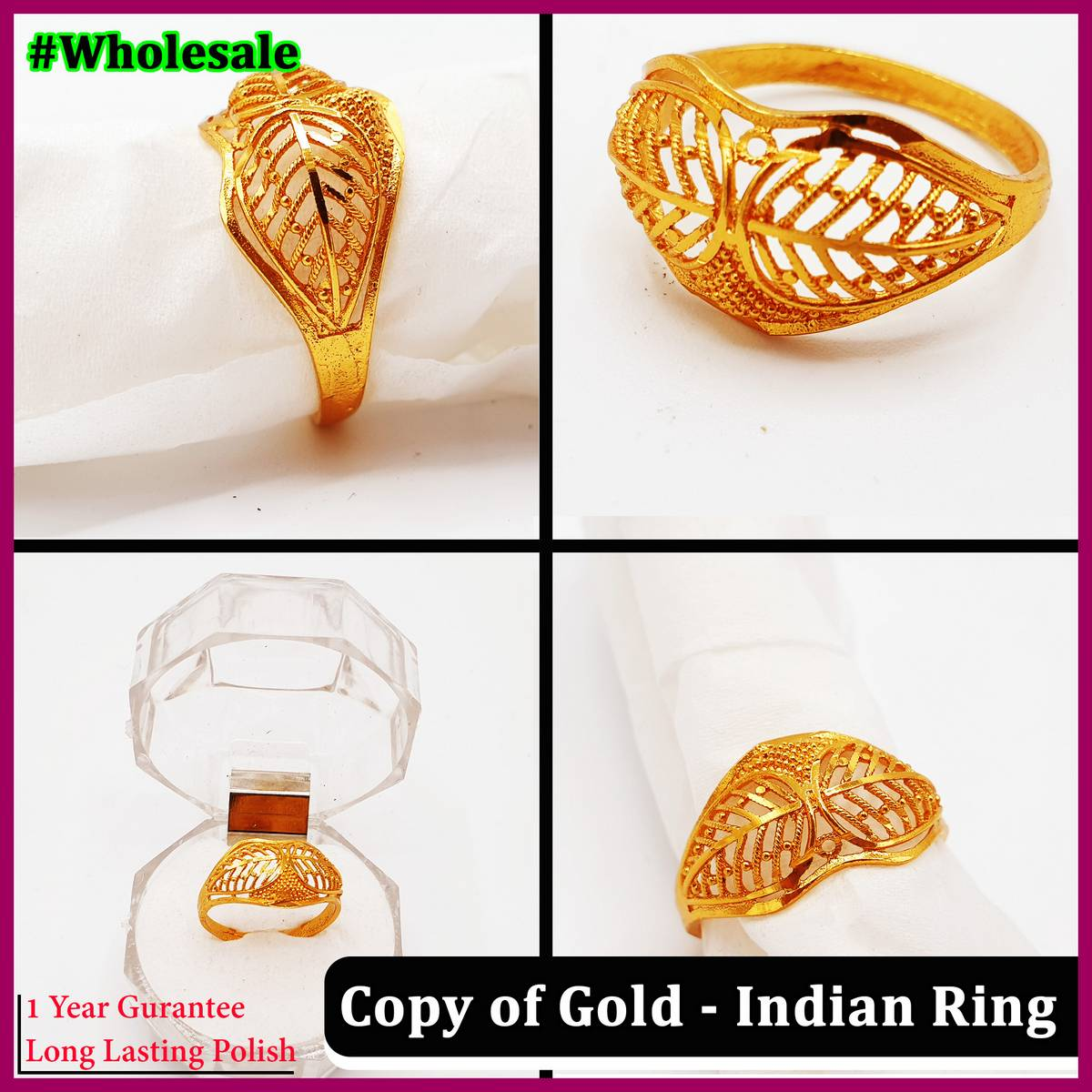 Indian Trendy Stylish Ring for Girls