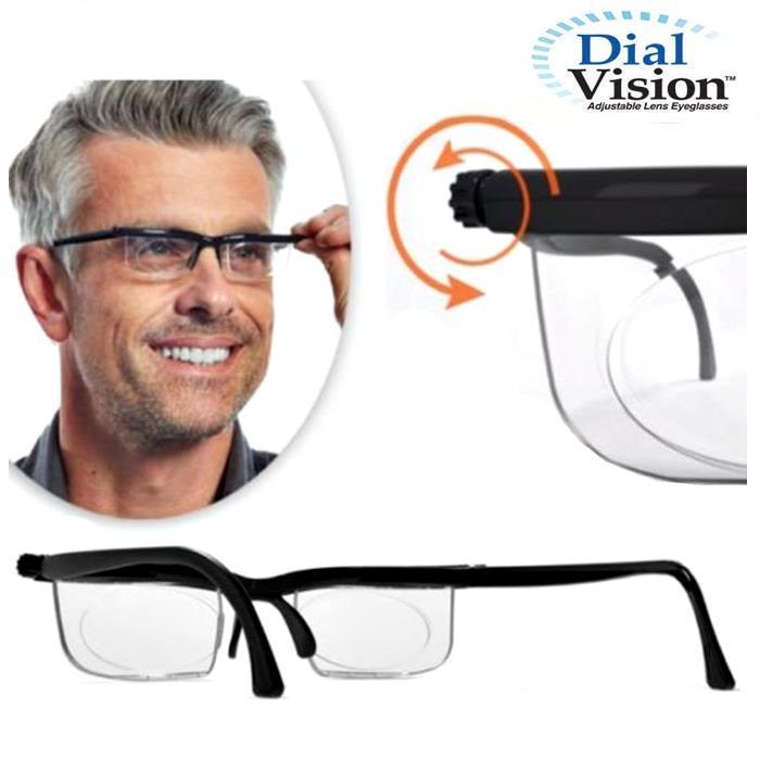 Dial vision world's first adjustable eyeglasses: Buy Online at ...