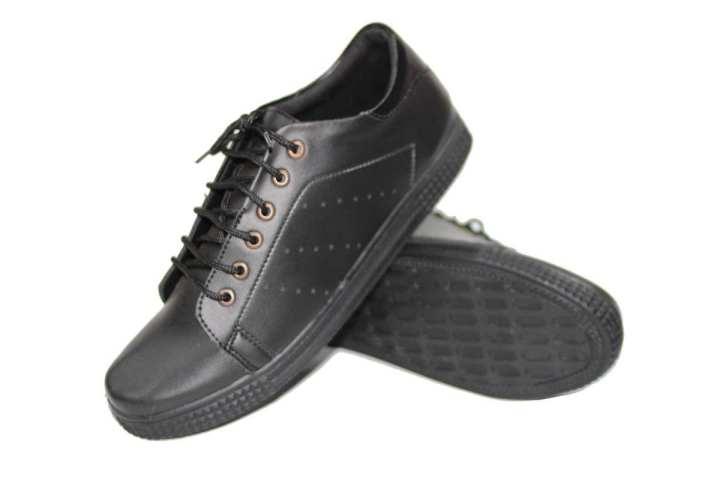 Black Canvas Shoes For Men