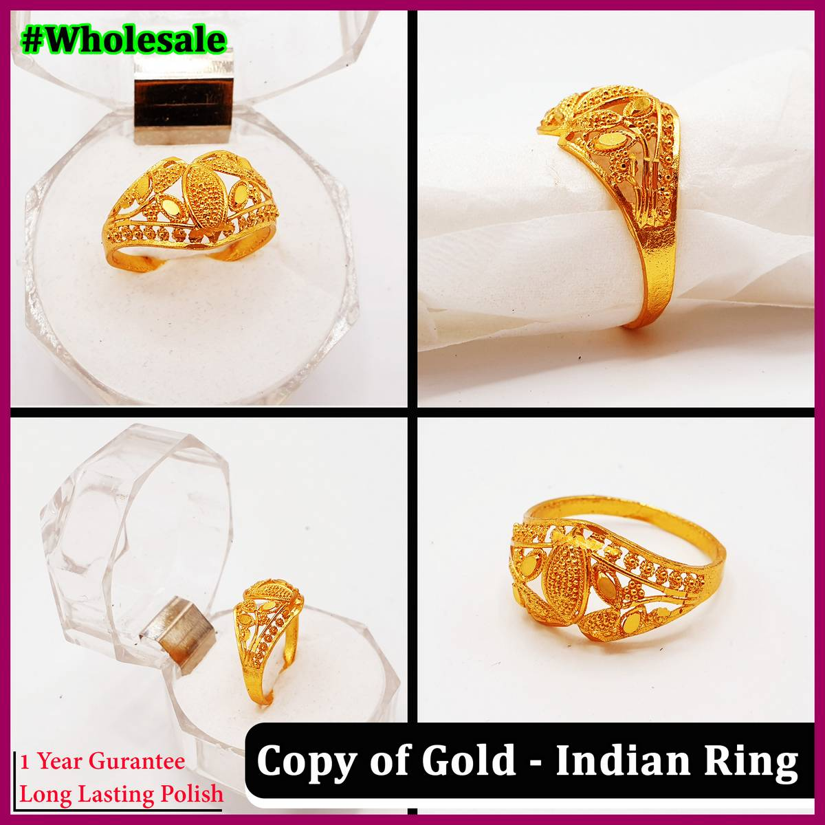 Indian Trendy Stylish Ring for Girls - 784