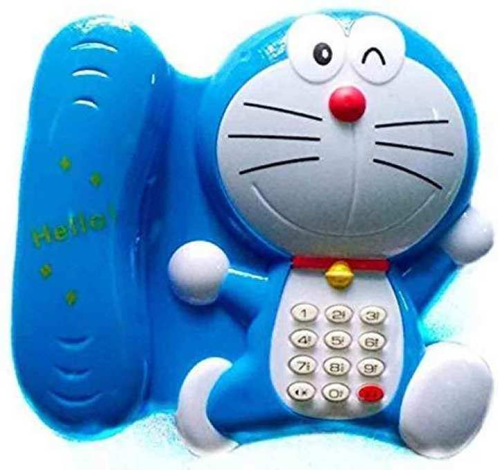 Doremon Learning Telephone Musical Toy for Kids