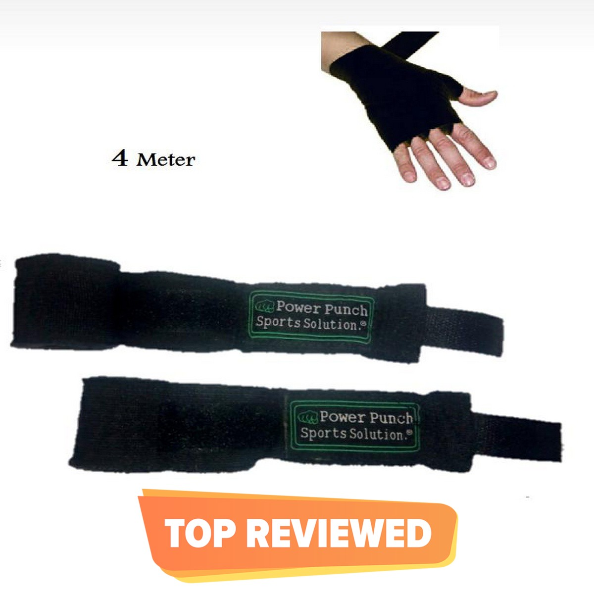 Without any Joint 1 Pairs of Hand Wrap. Size ; 160 Inches approx. Multi purpose used : For Boxing Gym MMA - UFC For training and proper grip.