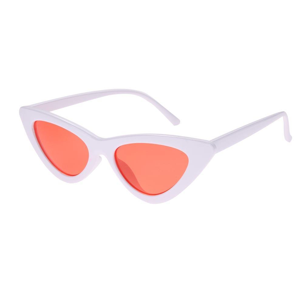 fc62bf92f3 Vktech Vktech Fashion Shades Vintage Women Cat Eye Outdoor Glasses Triangle  Sunglasses  Buy Online at Best Prices in Pakistan