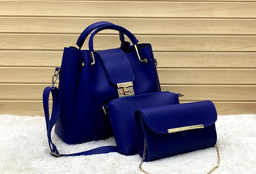 Handbags for Women Fashion Tote Bags Shoulder Bag Top Handle Satchel Purse Set 3pcs