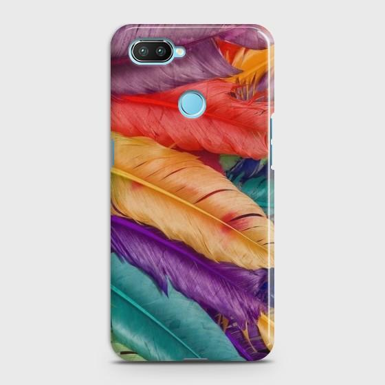 e834b79dadd Xiaomi Mi 8 Lite Cover - SkinLee HQ Hard Case - Colorful Wings - SKINLEE-