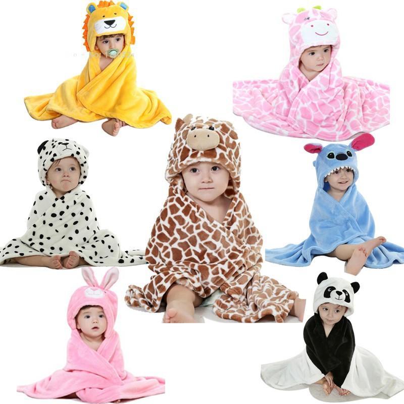 cute Baby Cartoon Blankets Flannel Cobertor Brown Bull Cow Animal Newborn Baby Names Cloak Kids Bedding Set Wrap Cuddleuppets Bolsas