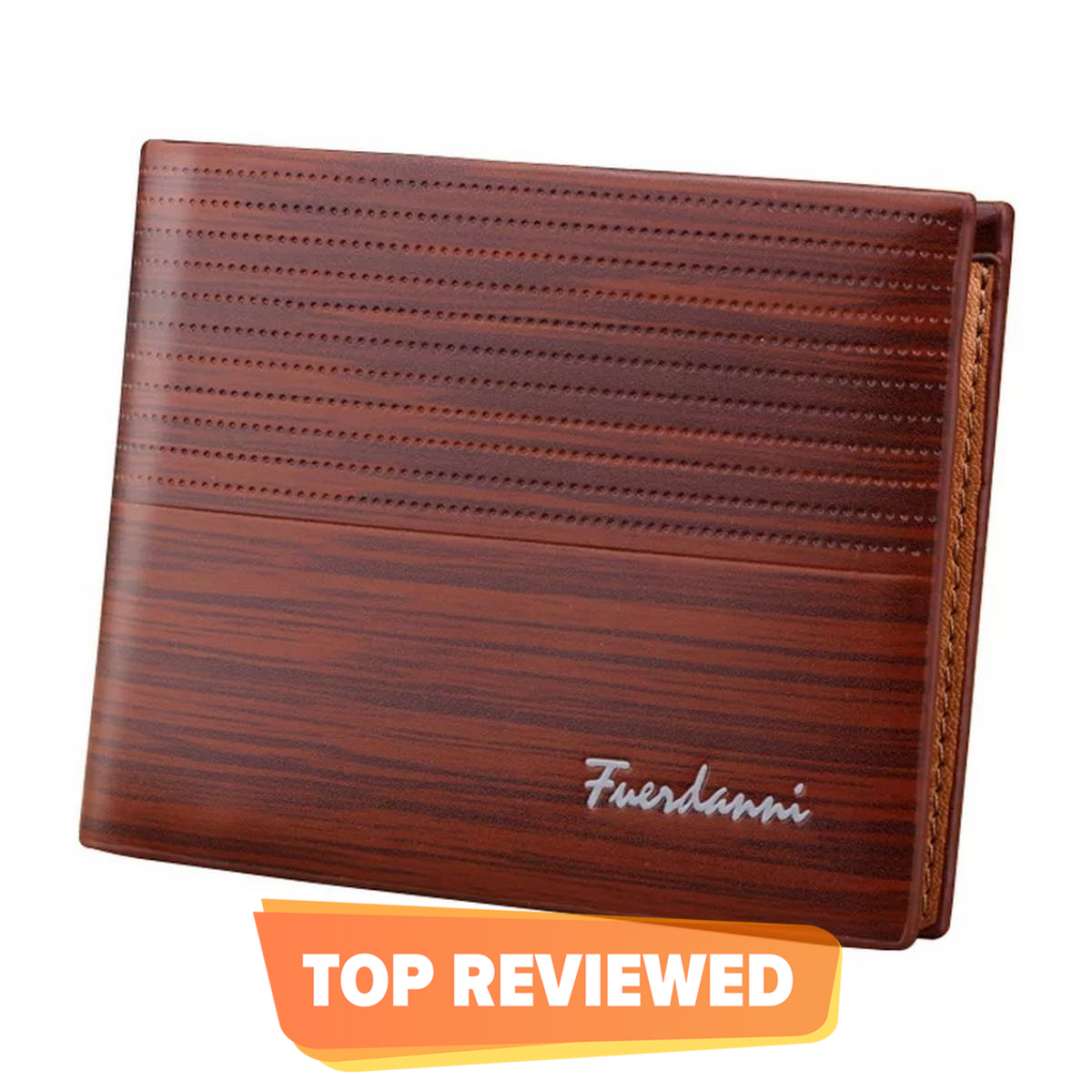 Soft Leather Wallet For Men Branded With Box