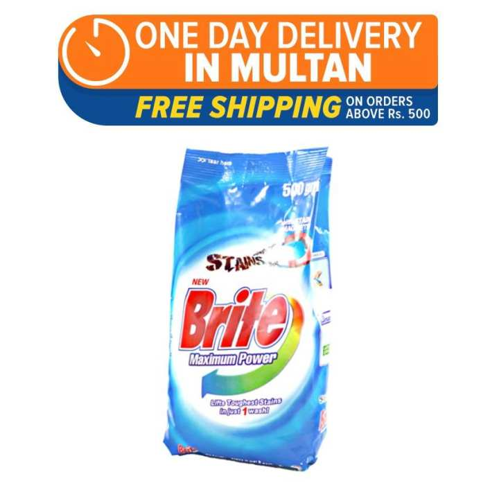 Brite 500gm (One Day Delivery in Multan)